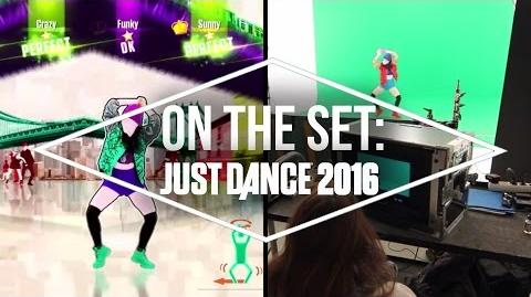 On the Set with Just Dance 2016