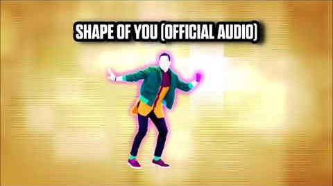 Shape Of You (Official Audio) - Just Dance Music