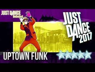 JUST DANCE 2017-Uptown Funk - Mark Ronson(ft