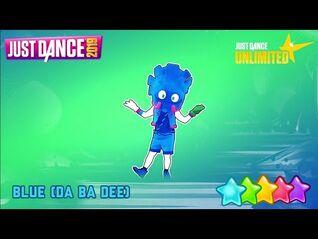 Just Dance 2019 (Unlimited) - Blue (Da Ba Dee) by Eiffel 65 -- Kids Mode