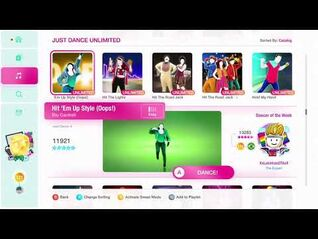 Just Dance 2020 (Unlimited) Hit 'Em Up Style (Oops!) 5*'s Gameplay