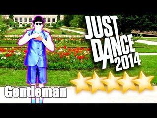 5☆ stars - Gentleman - Just Dance 2014 - Kinect