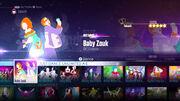 BabyZouk jd2016 menu