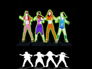 Beware Of The Boys (Full Extraction + Mask) - Just Dance 4