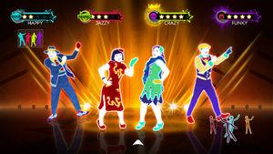 Just Dance 3/Beta Elements