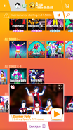 Slumberparty jdnow menu phone 2017