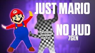 Just Mario - Just Dance Wii (No GUI)
