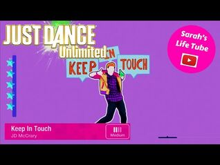 Keep In Touch, JD McCrary - SUPERSTAR - Gameplay - Just Dance 2020 Unlimited -PS5-