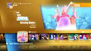 Dancingqueen jd2018 menu new