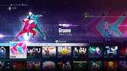 Groove jd2016 menu