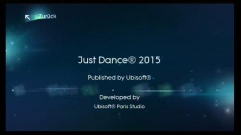 Just Dance 2015 Credits
