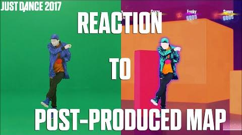 Just Dance 2017 5 Episode Reaction to post-produced Map - Making of a Just Dancer