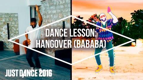 Dance Lessons with Just Dance 2016 Hangover (BaBaBa) by Buraka Som Sistema