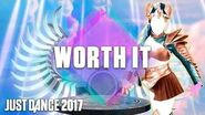 Just Dance 2017 Worth It by Fifth Harmony Ft. Kid Ink - Official Track Gameplay US