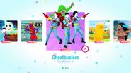 Ghostbusters jd2020 menu kids