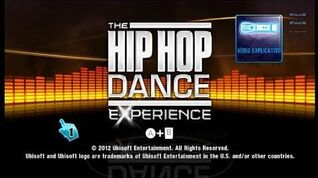 Wii The Hip-Hop Dance Experience - Song list