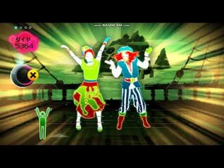 Just Dance Wii Japan - Jump In The Line - 4 Stars