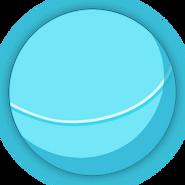 Collectible ball blue