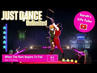 When The Rain Begins To Fall, Sky Trucking - SUPERSTAR, 2-2 GOLD, P1 - Just Dance 2016 Unlimited PS5
