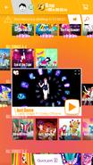 Justdance jdnow menu phone 2017