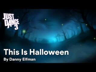 This Is Halloween background - Just Dance 3 (Wii-PS3)