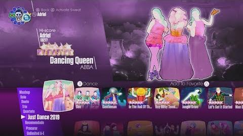 Just Dance 2019 - BETAS - Menu Song List