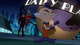 An alternate Superman and Supergirl will not play Mxyzptlk's game.