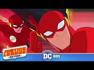 Justice League Action - FLASH'S Best Moments in Justice League Action - @DC Kids