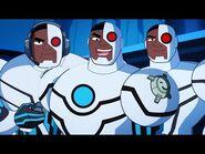 Justice League Action - Top 5 Cyborg Moments - DC Kids