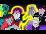 Top 10 Villains Moments - Justice League Action - DC Kids
