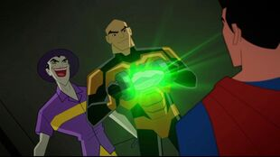 Joker and Luthor are given the green light to end the Justice League.