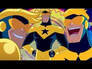 Top 5 Booster Gold Moments - Justice League Action - DC Kids