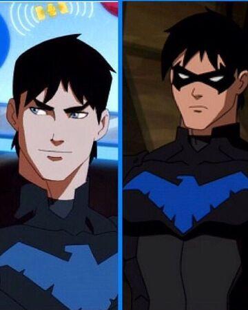 Nightwing Justicia Joven Wiki Fandom