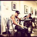 Justin Bieber drinking with Alfredo