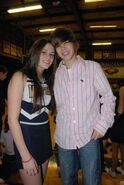 Caitlin and Justin