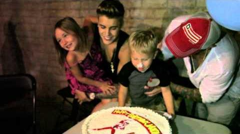 Happy 4th Birthday, Jaxon Bieber!