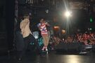 Justin Bieber and Lil Twist on stage