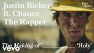 Justin Bieber - The Making Of 'Holy' Vevo Footnotes ft