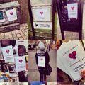 Beliebers promoting Heartbreaker