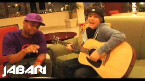 """Justin Bieber Sings """"One Time"""" Before He Was Famous (2009)"""