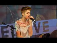 Justin Bieber - Baby- Acoustic @ The Squaire Frankfurt Germany 11.09