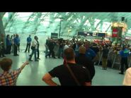 Justin Bieber at Frankfurt Airport - 11.09