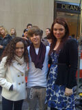 Justin Bieber at The Today Show October 2009
