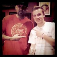 Ryan Butler getting his first tat 2