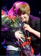 Justin sings OLLG for Caitlin Beadles