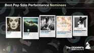 Best Pop Solo Performance Nominees The 59th GRAMMYs