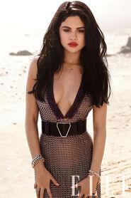Selena-V-neck-dress