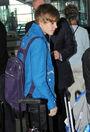 Justin Bieber at JFK