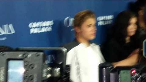 Justin Bieber Arrives To Omnia Nightclub In Las Vegas