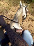 Bieber horseback riding